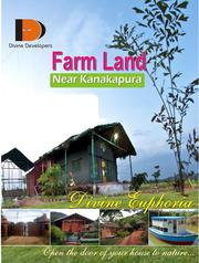 Buy a farm land and get a complimentary plant to your house free,  Bang