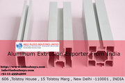 Importance of Aluminum Extrusion exporter from India